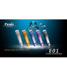 Mini Linterna Led Fénix E01 13 Lumens