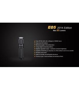 Mini Linterna Led Fénix E05N 85 Lumenes Ref. E05-N