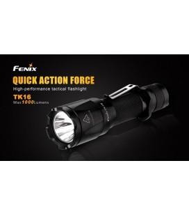 Linterna Fénix TK16 1000 lumens y 5 modos