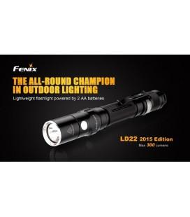 Linterna Led Fénix Ld22 300 Lumens Y 6 Modos
