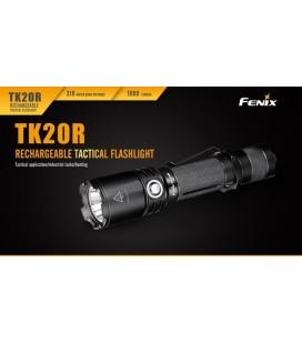 Linterna Fénix TK20R 1000 lumens y 5 modos