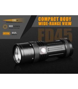 Linterna Fénix FD45 900 lúmenes (funciona con 4 AA o 4 ARB-L14-1600U)
