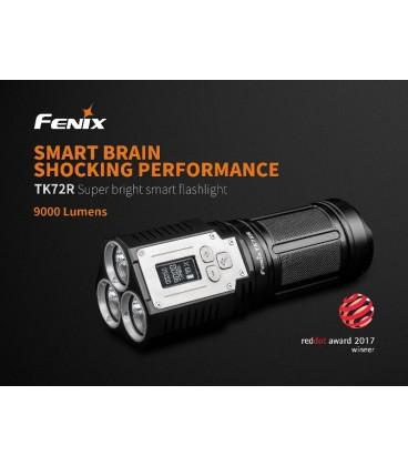 Linterna Fénix TK72R 9000 lúmenes batería de 7.2V / 7000 mAh (incluida)