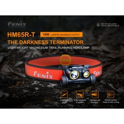 Frontal Fénix HM65R-T 1500 Lúmenes (incluye batería de 3500 mAh 18650)