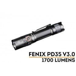 Linterna Fénix PD35V3.0 1700 lúmenes, 357 metros, recargable